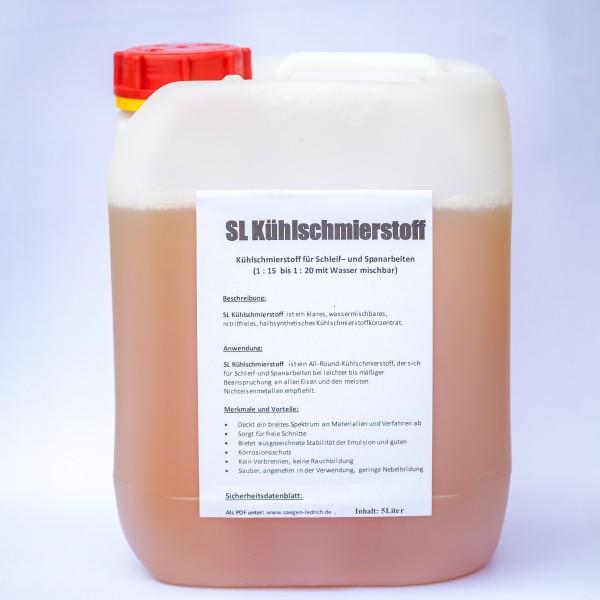 Kühlschmierstoff für Schleif- und Spanarbeiten 5L Kanister, wassermischbar